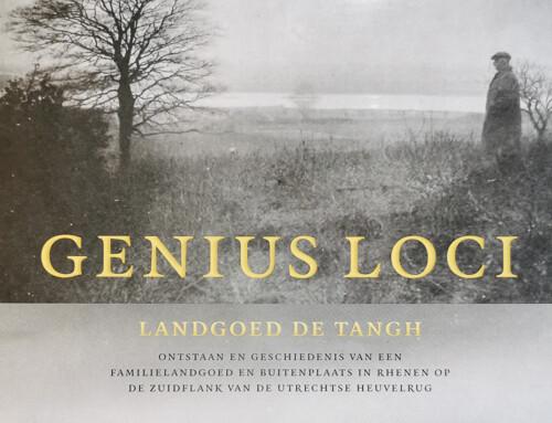 Boek: Genius Loci – Landgoed De Tangh